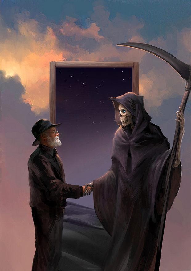 Terry Pratchett meets Death